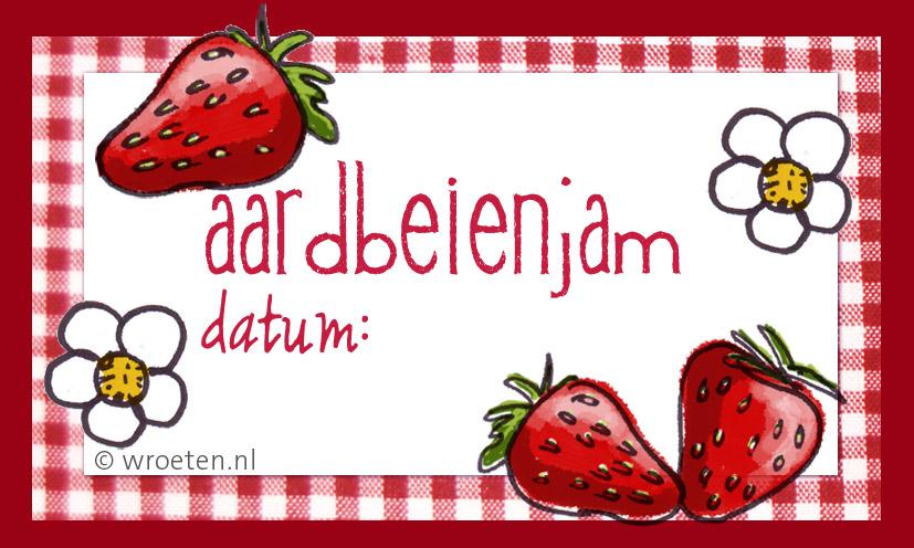 Bekend Zeer Jam Etiketten Maken WH72 | Belbin.Info UP81